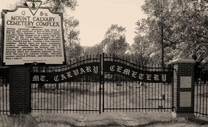 Mount Calvary Cemetery Project